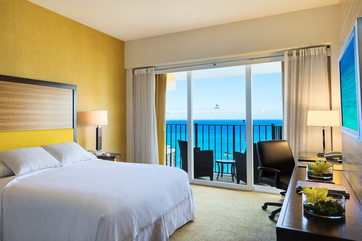 <p>1 KING 1 BDRM<br>EXEC FLOOR SUITE<br>OCEAN VIEW<p>