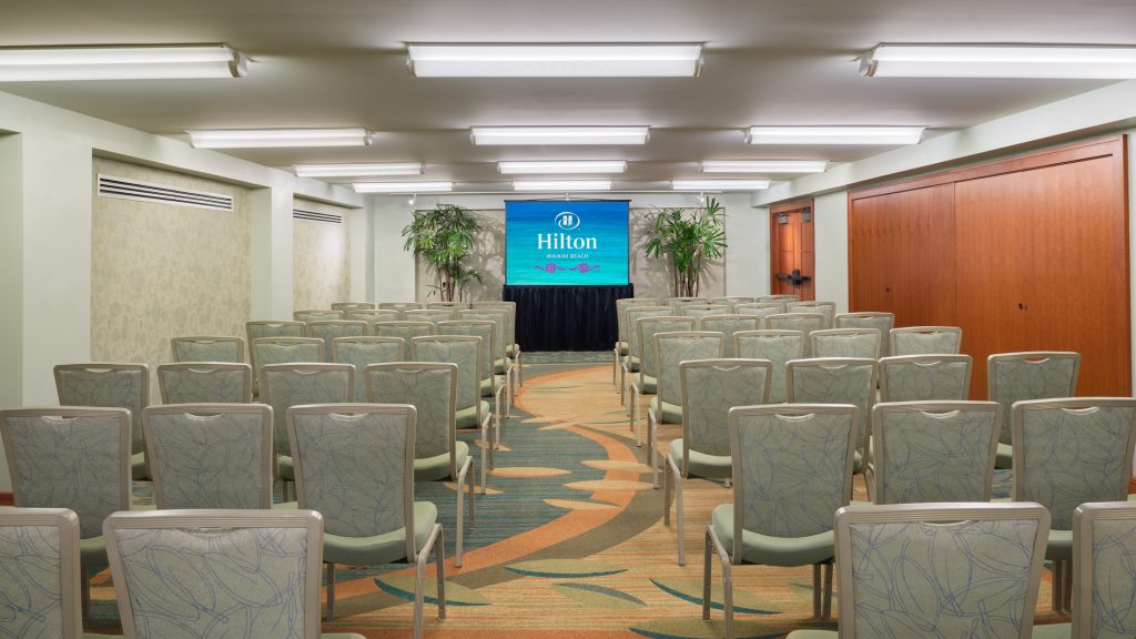 Hilton Waikiki Beach Hotel Meetings - Hawaii Room